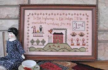 Annie Beez Folk Art Highways & Hedges