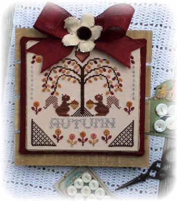 Annie Beez Folk Art Sheltering Tree - Autumn