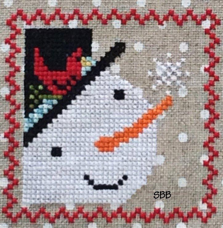 Annie Beez Folk Art Snowy #2 of 9