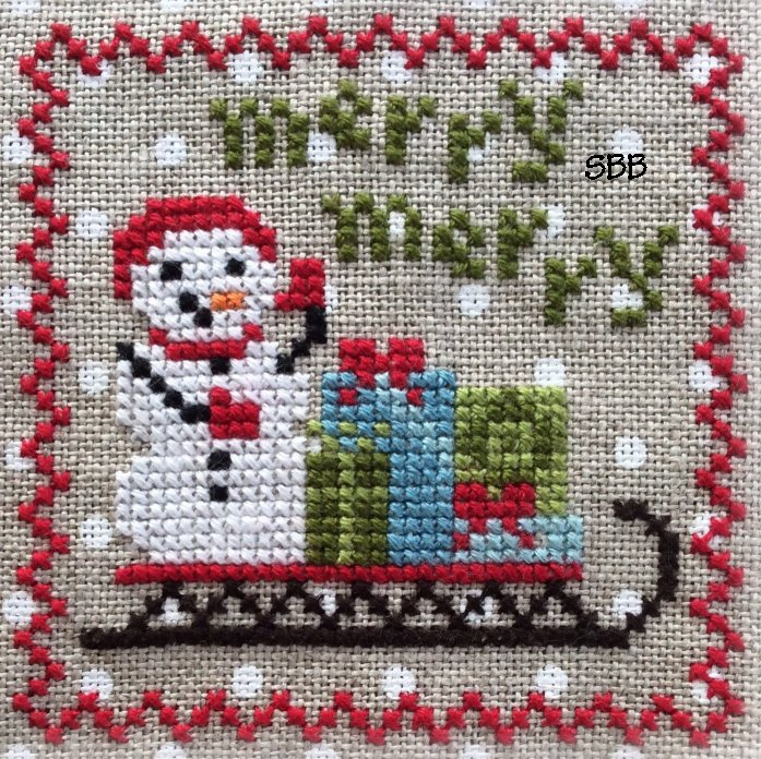 Annie Beez Folk Art Snowy #3 of 9
