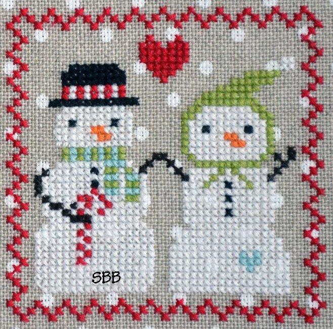 Annie Beez Folk Art Snowy #5 of 9