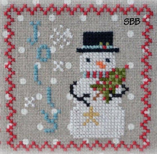 Annie Beez Folk Art Snowy #6 of 9