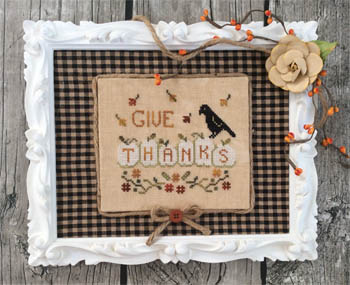 Annie Beez Folk Art  Thankful Pumpkins
