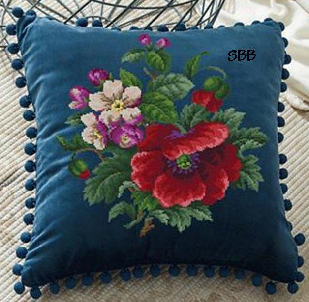 Antique Needle Work Designs33415 Antique Floral Bouquet