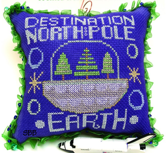Ardith Designs Destination North Pole Earth