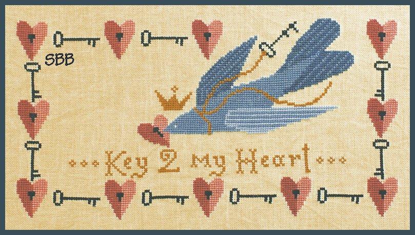 Artful Offerings Key 2 My Heart