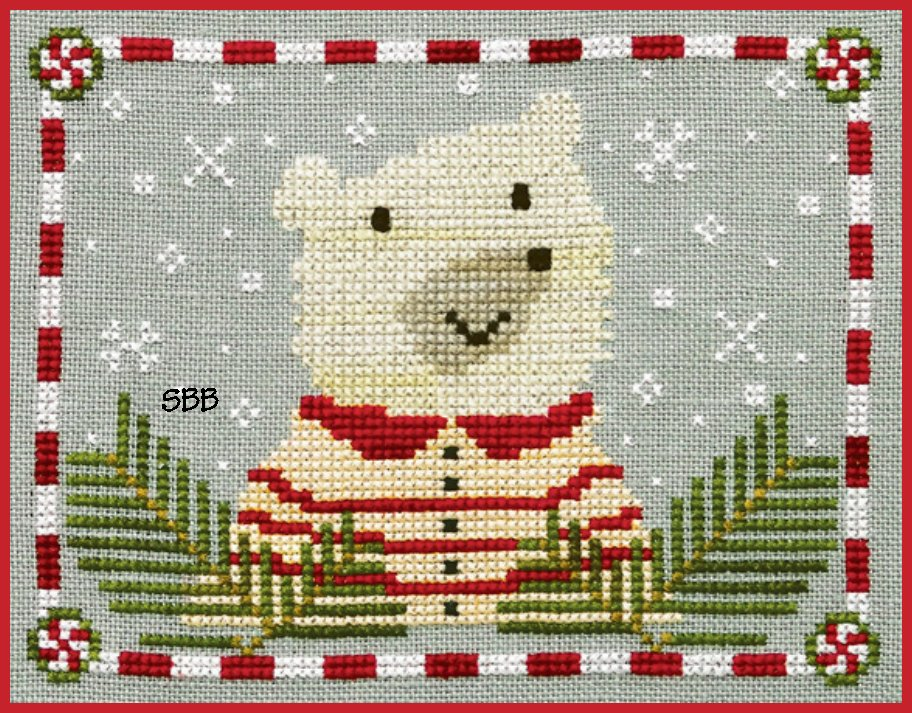 Artful Offerings Peppermint Polar Bear