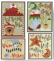 Barbara Ana Designs Christmas Ornaments