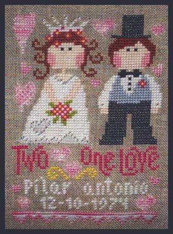 Barbara Ana Designs Two Hearts, One Love