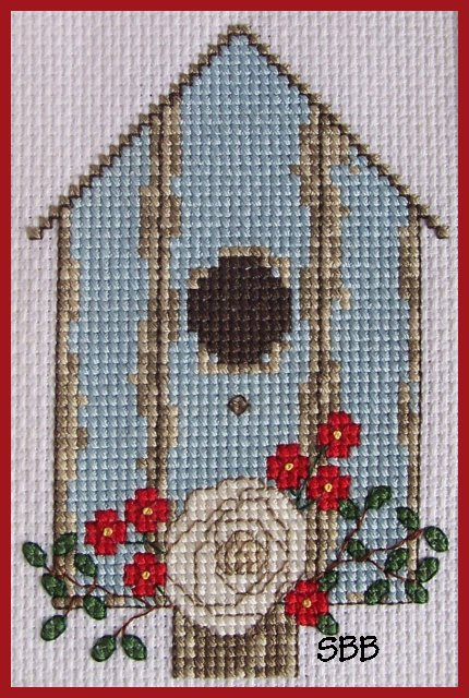 Becca Jean Designs Seasonal Birdhouse Series ~ Summer Birdhouse