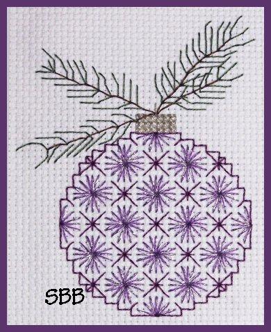 Becca Jean Designs Sugar Plum Ornament #2