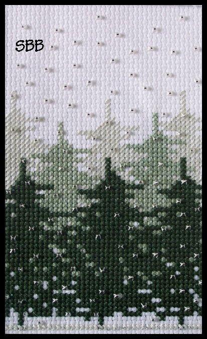 Becca Jean Designs Winter Forest