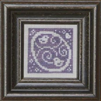 Bent Creek Purple + White