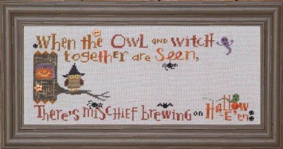 Bent Creek The Halloween Branch ~ The Hooty Owl