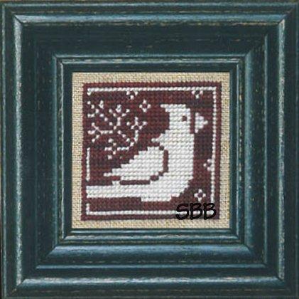 Bent Creek Winter Redbird + White