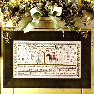 Birds of a Feather My Betrothed Sampler