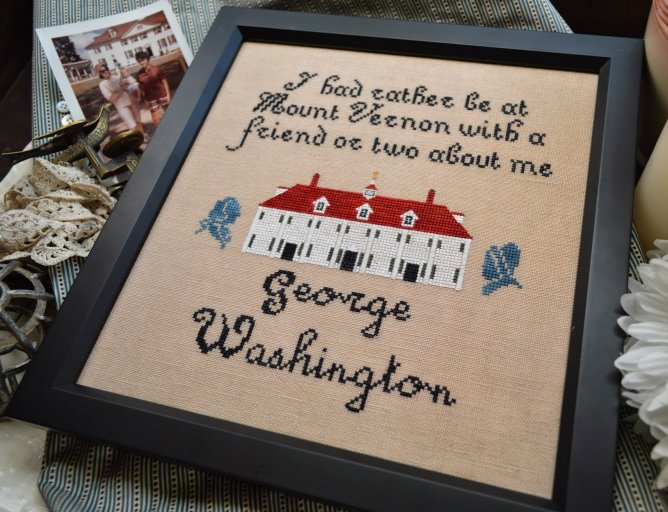 Black Branch Needlework George Washington's Mt. Vernon