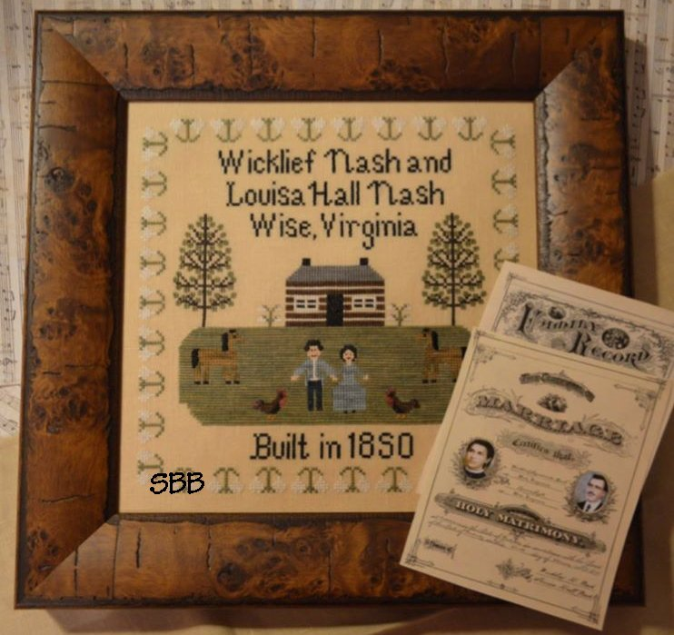 Black Branch Needlework Heritage Sampler