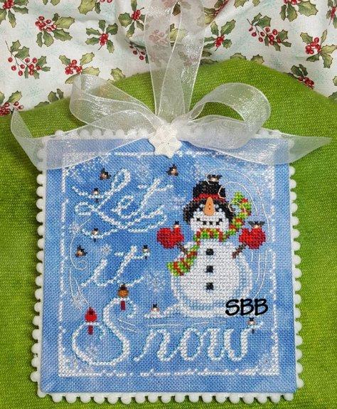 Blackberry Lane Designs Let It Snow