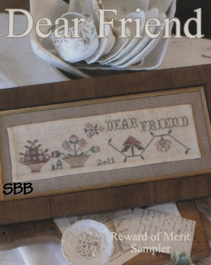 Blackbird Designs Reward of Merit ~ Dear Friend