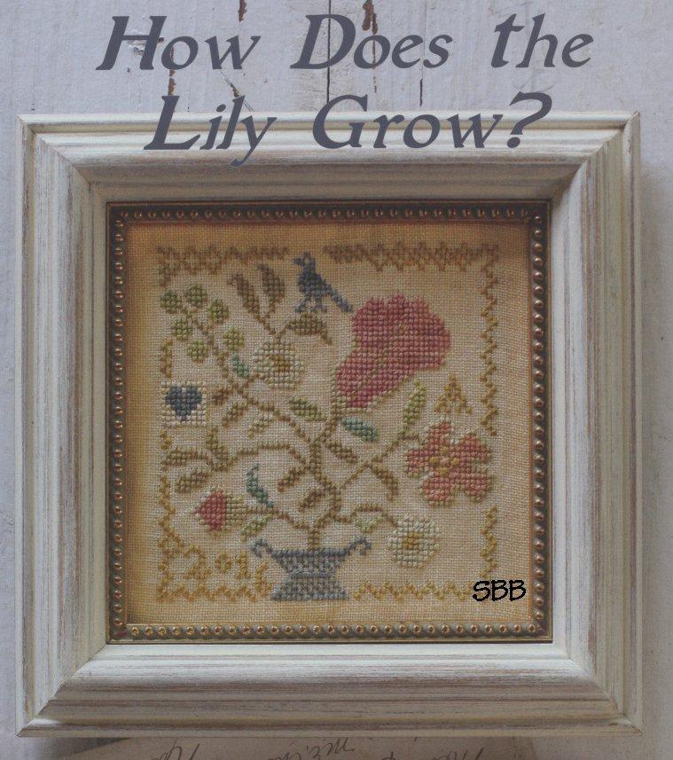 Blackbird Designs Garden Club #10 ~ How Does The Lily Grow