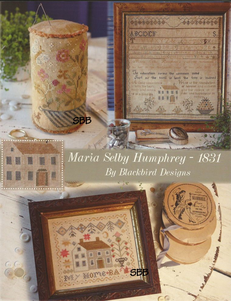 Blackbird Designs Maria Selby Humphrey 1831