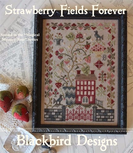Blackbird Designs Strawberry Fields Forever (Reprint)