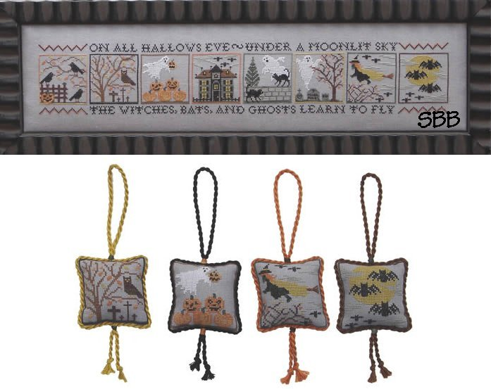 Blue Ribbon Designs Black Cats & Flying Bats