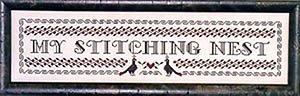 Blue Ribbon Designs My Stitching Nest