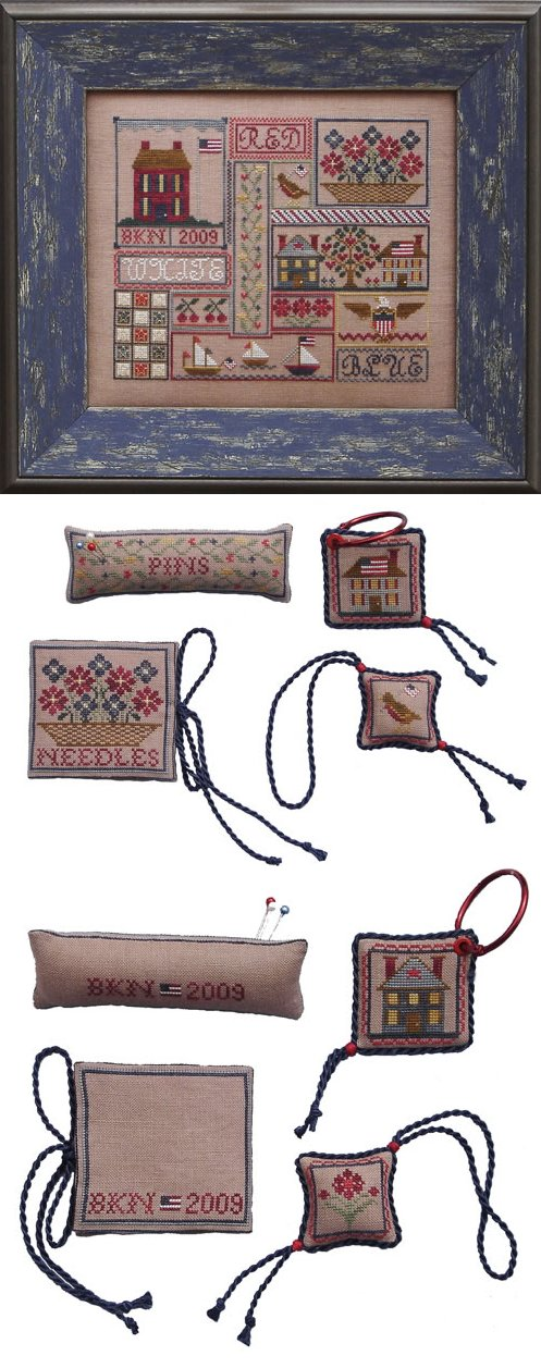 Blue Ribbon Designs Patriotic Patchwork