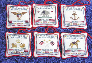Blue Ribbon Designs Patriotic Wishes Volume 1