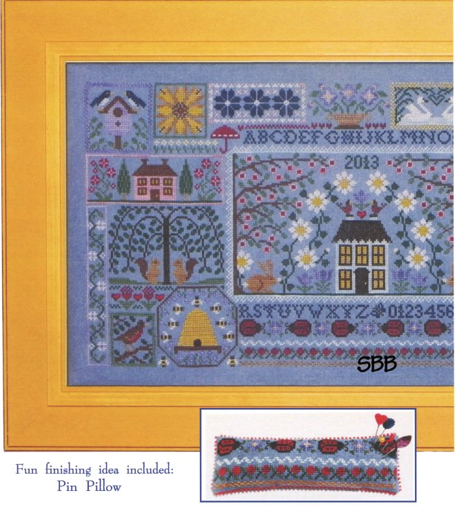 Blue Ribbon Designs Blue Jeans and Daisies ~ Mystery Club Part Two of Three