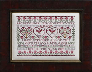 Blue Ribbon Designs Stitched With Love