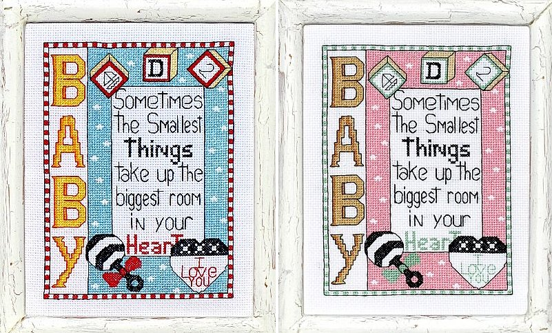 Bobbie G. Designs Boy & Girl Smallest Things