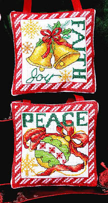 Bobbie G. Designs Faith Peace Ornaments