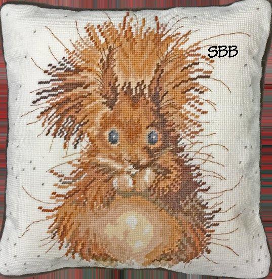 Bothy Threads Kits BTTHD14 Nutcracker ~ Hannah Dale ~ 10ct Printed Canvas