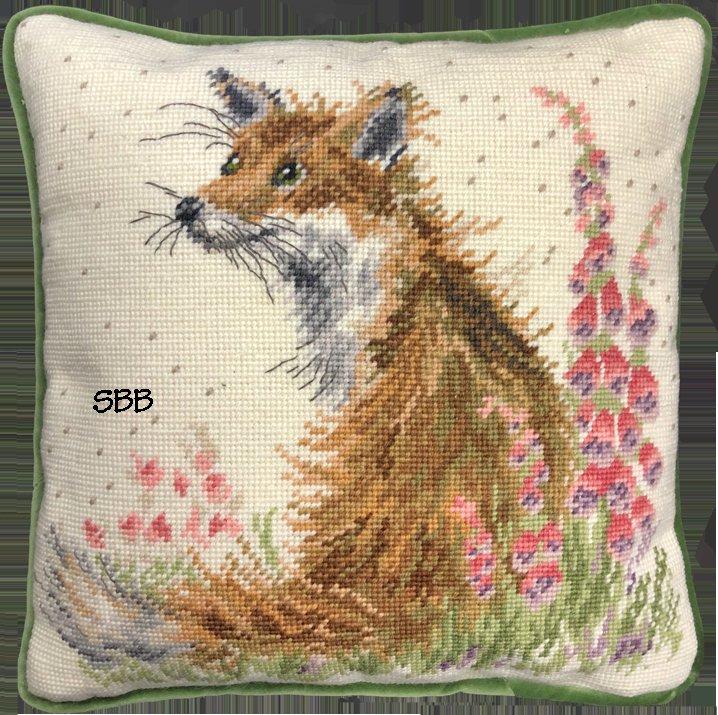 Bothy Threads Kits BTTHD18 Amongst The Foxgloves ~ Hannah Dale ~ 10ct Printed Canvas