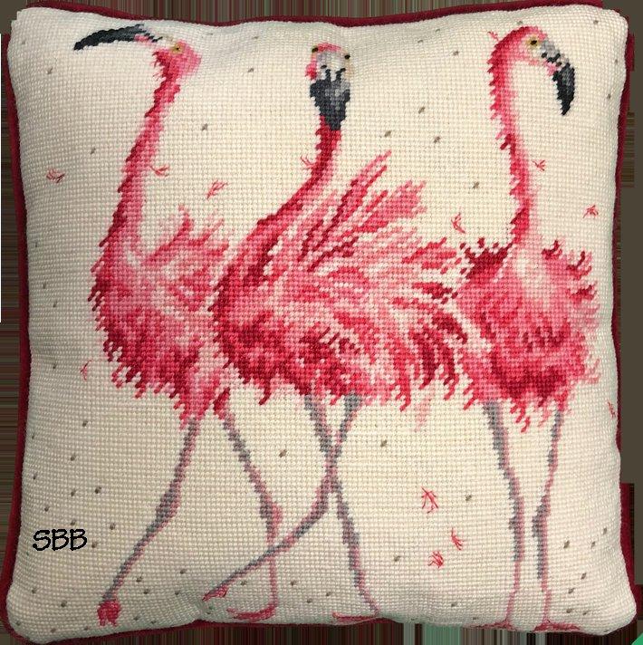 Bothy Threads Kits BTTHD24 Pink Ladies ~ Hannah Dale ~ 10ct Printed Canvas