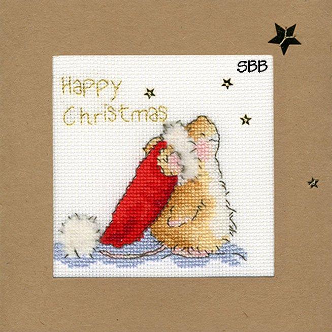 Bothy Threads Kits BTXMA20 Christmas Cards Star Gazing ~ Margaret Sherry ~ 16ct White Aida
