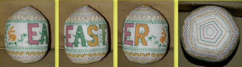 Brodeuse Bressane Easter Egg Ornament