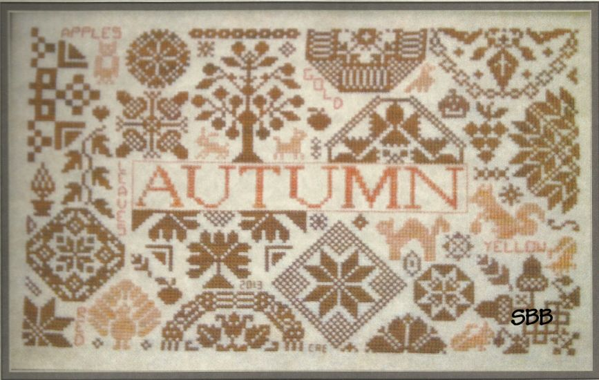 Remembering ByGone Stitches Autumn Quaker Seasons