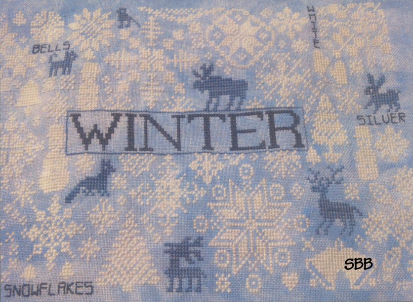 Remembering ByGone Stitches Winter Quaker Seasons