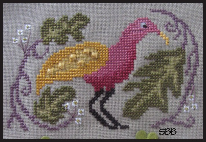 By The Bay Needleart Birds Of A Funky Feather #1