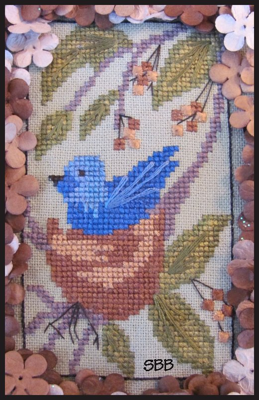 By The Bay Needleart Birds Of A Funky Feather #10