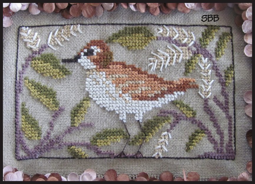 By The Bay Needleart Birds Of A Funky Feather #12