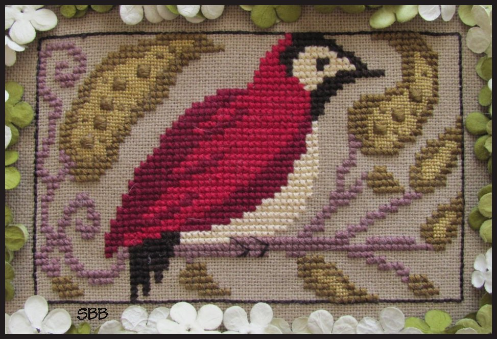 By The Bay Needleart Birds Of A Funky Feather #6