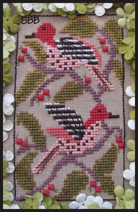 By The Bay Needleart Birds Of A Funky Feather #9