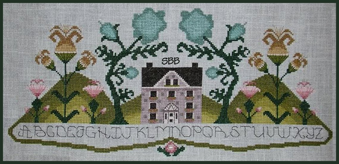 By The Bay Needleart Blossom Hills Sampler