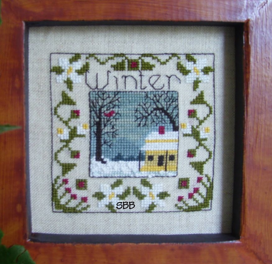 By The Bay Needleart Box Of Winter
