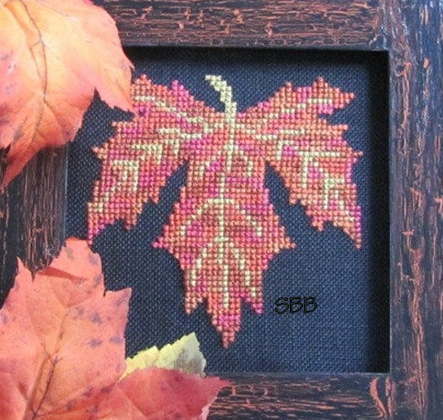 By The Bay Needleart Fall Leaf